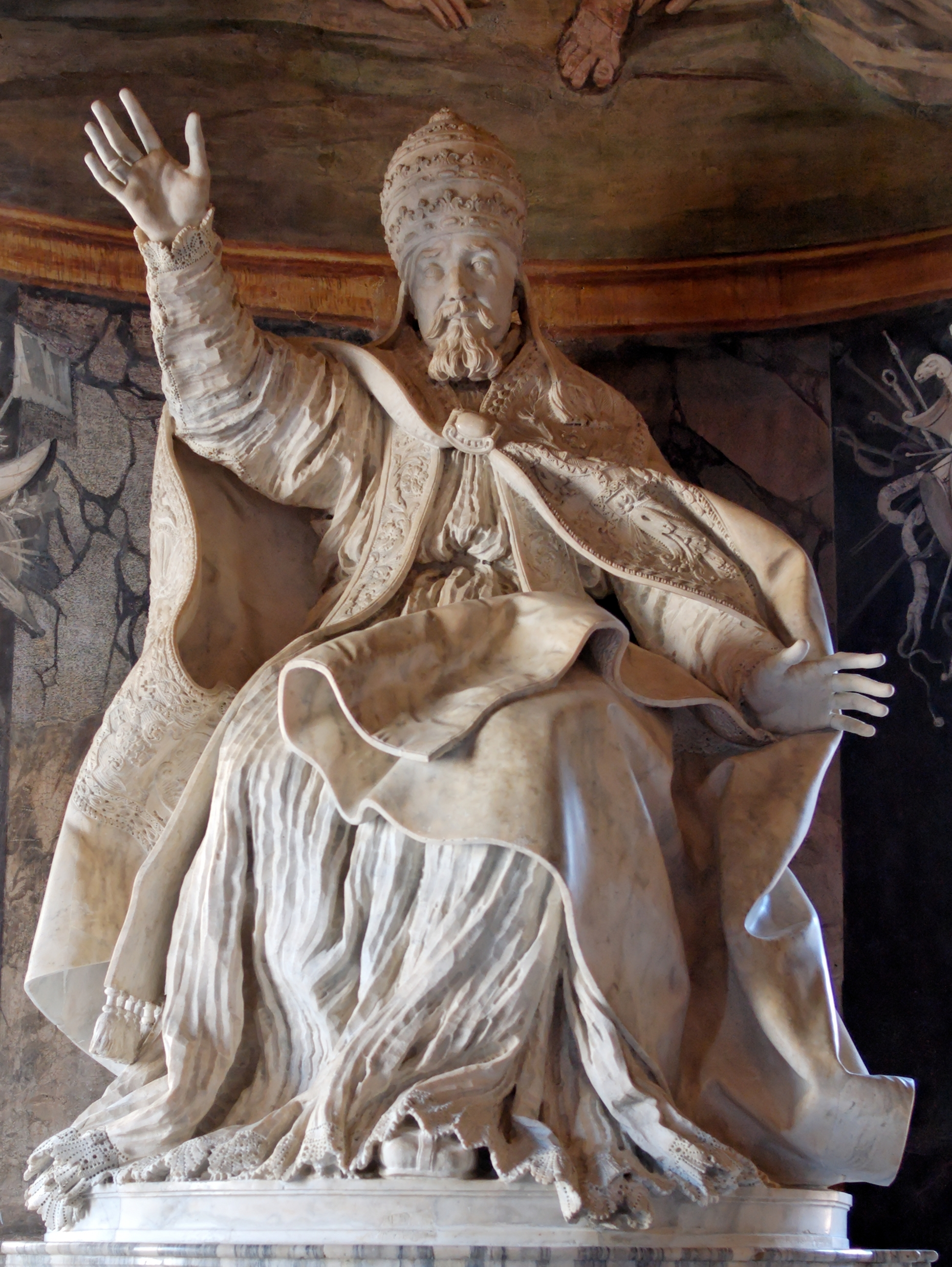 gian lorenzo bernini hidden cause visible effects pope urban viii by bernini