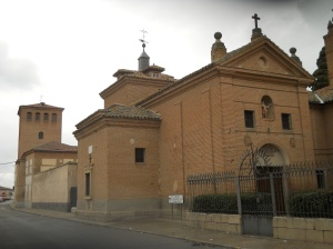 Church at the birthplace of Juan de la Cruz in Fontiveros, Ávila, Spain. (Photograph by Cruccone. In Wkimedia Commons.)