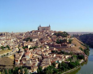 Juan was taken from AVilla to Toledo for trial and imprisonment. The city was ancient then and has never escaped the grip of the medeival.