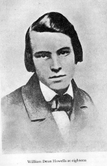 William Dean Howells In 1855 Click To Enlarge But Writing For The Daily