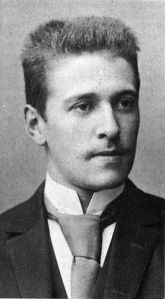 Hugo von Hofmannsthal at 19 in 1893. (Wikipedia.) Click to enlage.