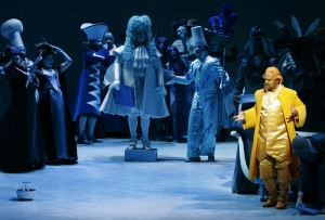 The 2005 production of Der Rosenkavalier by the Los Angeles Opera,. Production directed by Maximilian Schell.