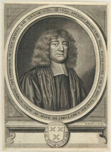 Joseph Glanville. Engraving by William Faithorne, printed in 1681