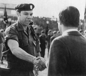 U.S. Army Major Colin Powell around the time he was whitewashing the My Lai massacre.