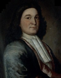 Portrait of Sir William Phips. Oil on canvas by Thomas Child, Boston, ca. 1687-94.