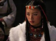 Sonamdolgar, who plays Odsaluyang, the Tibetan version of Ophelia.