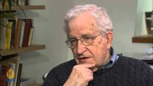 Chomsky during Chomsky