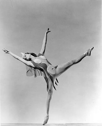 Maria Tallchief as Eurydice.