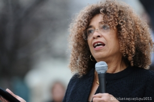 Angela Davis on March 4, 2011 speaking on behalf of community organizing efforts against the Oakland gang injunctions. This is the Angela Davis who continues the fight; not the one in the movie.