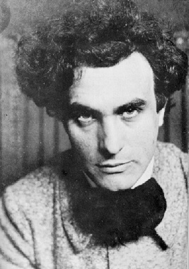 Photograph of young Edgard Varèse. Date unknown.