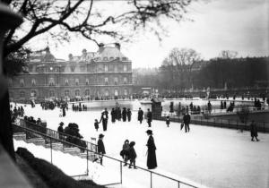 Jardin du Lexuembourg, 1913 (Bibliothèque national de France).