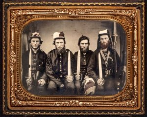 Portrait of the Pettillo brothers by unknown photographer. (David Wynn Vaughan Collection.) Click to enlarge.