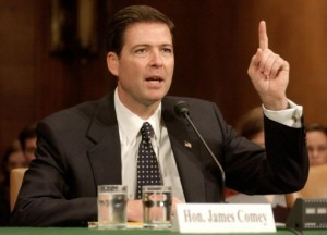 James B. Comey, Jr. at the beginning of his career, at a time he was confused about torture. Testifying before the Judiciary Committee on October 29, 2003. (Photo: Reuters/Mannie Garcia.)