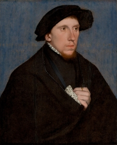 Henry Howard, Earl of Surrey by Hans Holbein. (Oil on wood. c1542. São Paulo Museum of Art.) Click to enlarge.