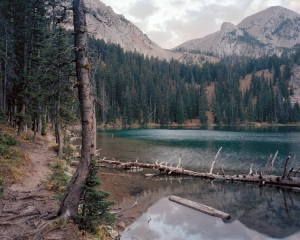Alpine Lake, Gallatin National Forest, Montana, 2011 by Brian Schutmaat. Used by permission. Click to enlarge.