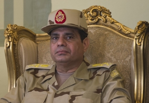Egyptian Defence Minister Abdelfatah al-Sissi on May 22, 2013 (Photo: Khaled Desouki/AFP//Getty Images.) General Sissi's position is somewhat more enhanced these days, as a result of what everyone knows was a military coup in July.