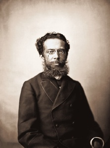 Machado de Assis. (Photograph by Marc Ferrez. 1890.)