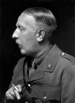 Ford Madox Ford in King's uniform, 1915. (E.O. Hoppé Estate Collection.)