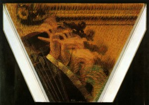 The Hand of the Violinist (The Thythms of the Bow) by Giacomo Balla. (Oil on canvas. 1912. Eastorick Collection, London.)
