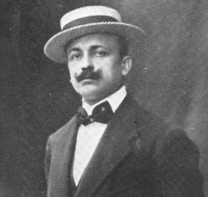 Filippo Tommaso Marinetti. (ca. 1910. Photographer unknown.)