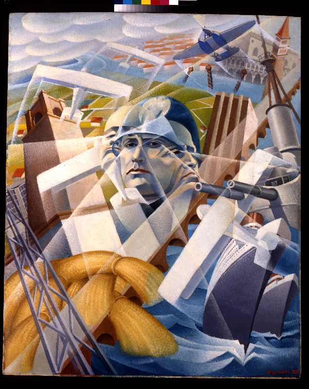 Italian Futurism From Cubism In Motion To Fascism S Official Style