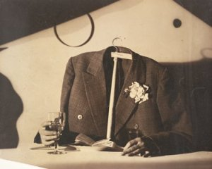 The Perfect Bourgeois by Tato (Buglielmo Sansoni). (Gelatin silver print. 1930. Rovereto, MART.)