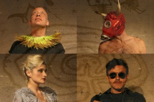 The cast in some of their costumes. (Photos by Marisa @RockPaper.)