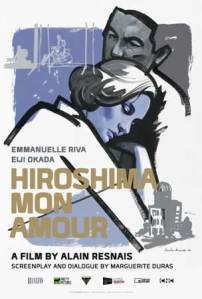 Poster for the 4K version of Hiroshima, Mon Amour, released by Rialto.