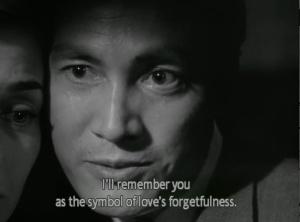 Love's forgetfulness