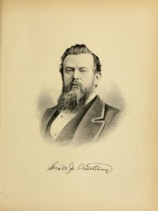 Anthony J. Scott. Engraving from unknown book, linked at findagrave.com (which omits mention of Anthony's participation at the Sand Creek Massacre.)