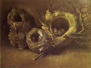 12. Birds' Nests, Late September-early October 1885. Oil on canvas. Kröller-Müller Museum, Otterlo.