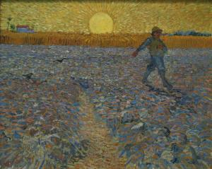 6. The Sower. 1888. Oil on canvas. Kröller-Müller Museum, Otterloo, Netherlands.