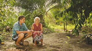 Adi Rukun speaks to his mother about his brother's killing in The Look of Silence