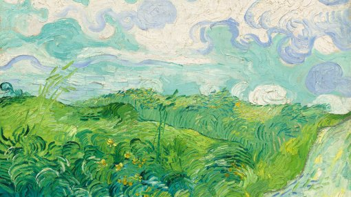Van Gogh, Green Wheat Fields