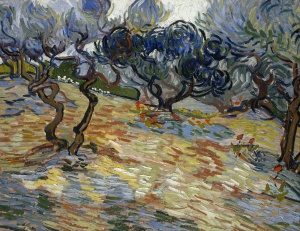 28. Olive Trees. 1889. Oil on canvas. Scottish National Museum, Edinburgh.