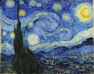 The Starry Night. 1889. Oil on canvas. Museum of Modern Art, New York City. Not included in Clark show.