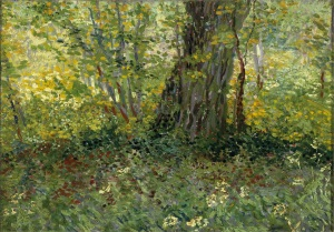 21. Undergrowth. 1887. Oil on canvas. Centraal Museum, Utrecht.