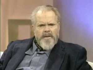 Hours before he died before a typewrite in his hotel room on October 10, 1985, Orson Welles taped this interview on the Merv Griffin Show. It aired Monday, October 15, 1985.