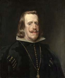 3. Philip IV by Diego Velázquez. Oil on canvas. ca. 1653–55. Prado, Madrid.