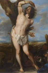 19. Saint Sebastian by Juan Carreño. Oil on canvas. 1656. Prado, Madrid.