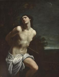 17. Saint Sebastian by Guido Reni. Oil on canvas. 1617-19. Prado, Madrid.