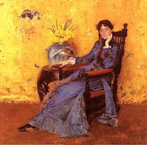 14. Portrait of Miss Dora Wheeler. Oil on canvas. 1883. Cleveland Museum of Art, Cleveland, Ohio.