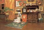 9. In the Studio. Oil on canvas. ca. 1881 or 1882. Brooklyn Museum, Brooklyn, New York.