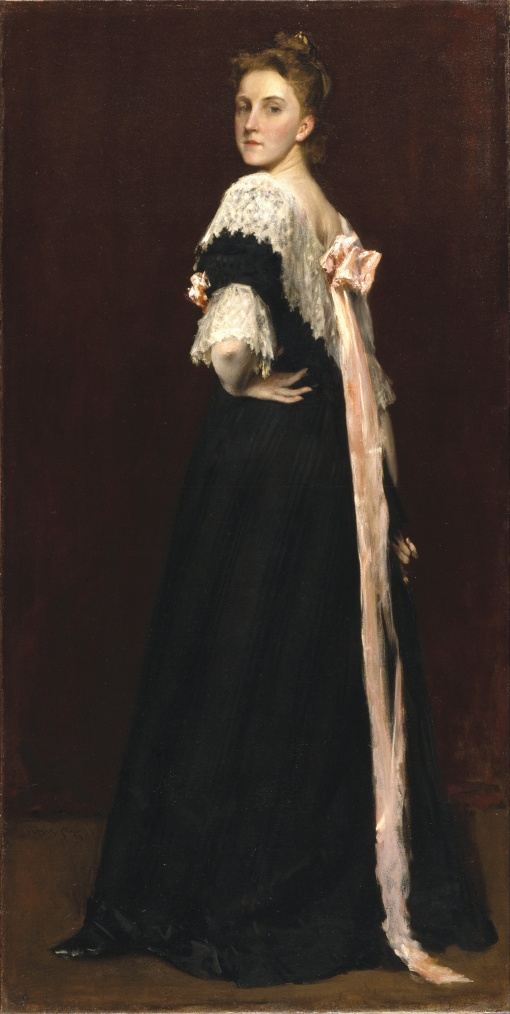 12. Lydia Field Emmet. Oil on cavas. ca. 1892. Brooklyn Museum, Brooklyn, New York.