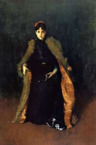 11. Portrait of Mrs. C (Alice Gerson Chase). Oil on canvas. ca. 1890-95. Carnegie Museum of Art, Pittsburgh, Pennsylvania.
