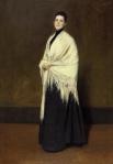 15. Portrait of Mrs. C. (Lady with a white Shawl). Oil on canvas. 1893. Pennsylvania Academy of Fine Arts, Philadelphia, Pennsylvania.