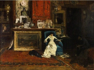 7. Tenth Street Studio. Oil on canvas. 1880. St. Louis Art Museum.