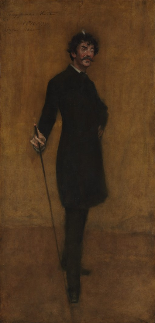 13, James Abbott MacNeill Whistler. Oil on canvas. 1885. Metropolitan Musuem of Art, New York.