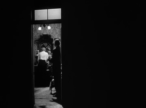 15. through the doorway into Susan Alexander's apartment.