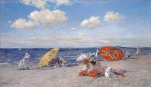 33. At the Seaside. Oil on canvas. ca. 1892. Metropolitan Museum of Art, New York.